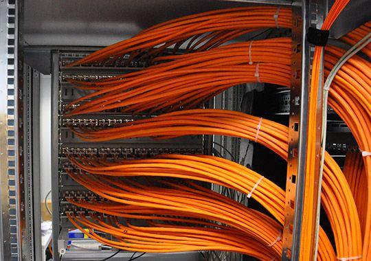 Rechenzentrum Netzwerkverkabelung Und Verteilungsarchitektur